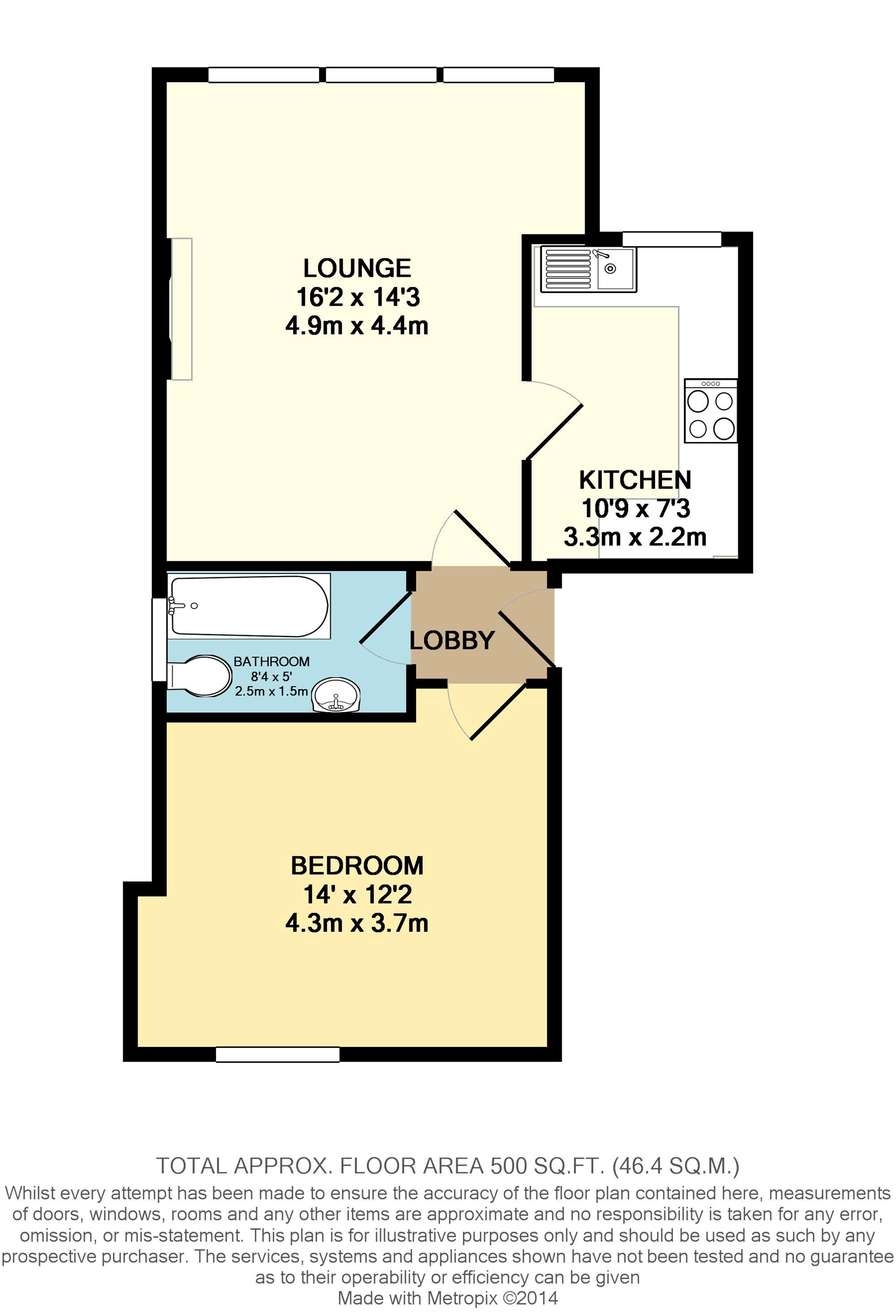 Floorplan of property at 11-13 Wilton Road