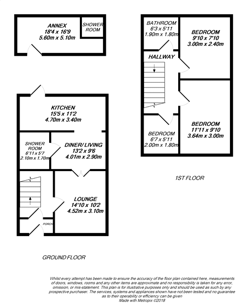 Floorplan for Hayes, Greater London