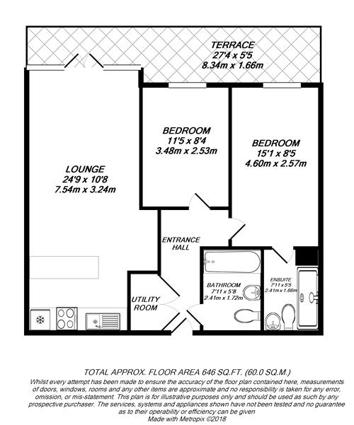 Floorplan for West Drayton, Greater London
