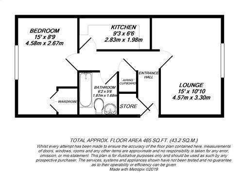Floorplan for Slough, Berkshire