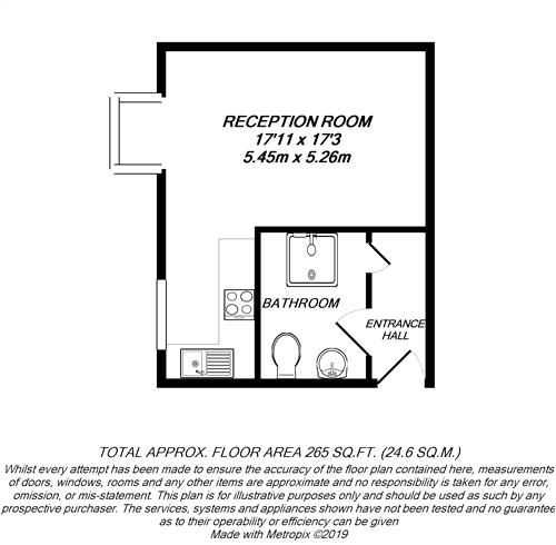 Floorplan for West Drayton, Middlesex