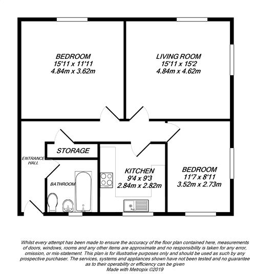 Floorplan for Uxbridge, Middlesex