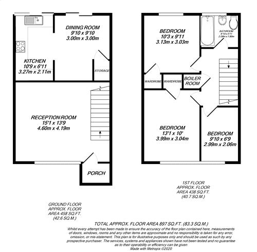 Floorplan for High Wycombe, Buckinghamshire