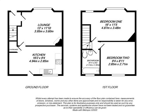 Floorplan for Hillingdon, Middlesex