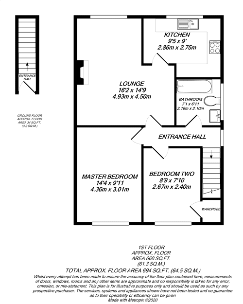 Floorplan for Denham, Buckinghamshire