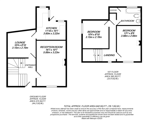 Floorplan for North Uxbridge,