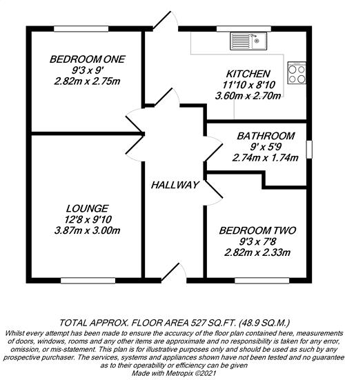Floorplan for Greenford, Middlesex